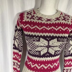 American Eagle Outfitters Sweaters - American Eagle Fair Isle Cable Knit Sweater 🦖